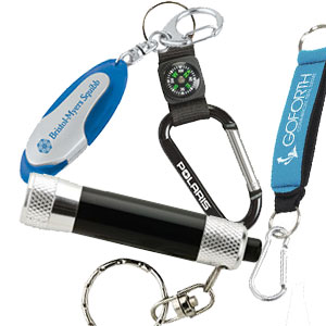 Keychains & Carabiners